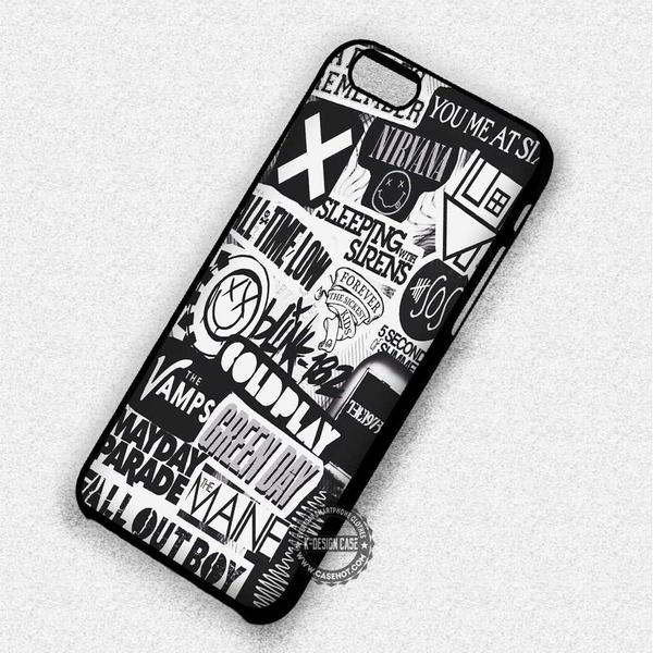 All Band Logo - iPhone 7 6 6s 5c 5s SE Cases & Covers