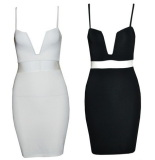 Bustier Pencil Dress - Juicy Wardrobe