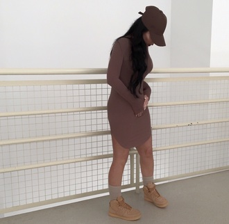 shoes brown nude cute girl tumblr tumblr girl dress chocolate