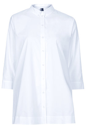 Cotton oversized shirt
