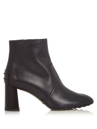 leather ankle boots boots ankle boots leather navy shoes