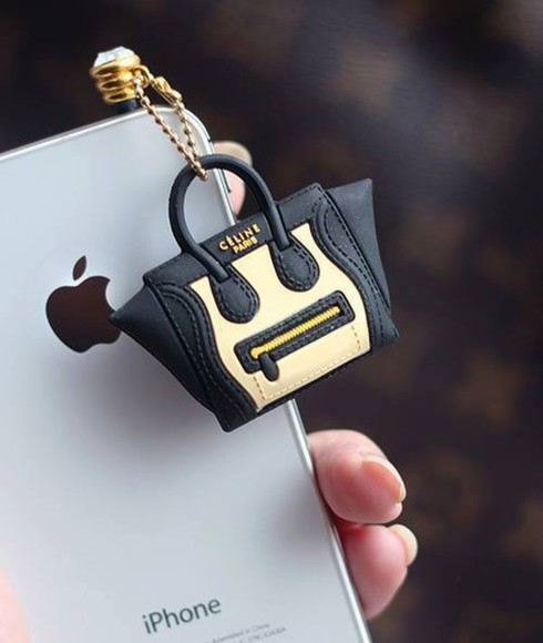 jewels accessory iphone earplug celine bag mini bag