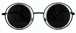 Obscure Round Metal Sunglasses