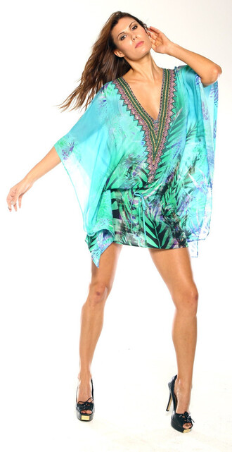 dress parides cover up floral print bikiniluxe