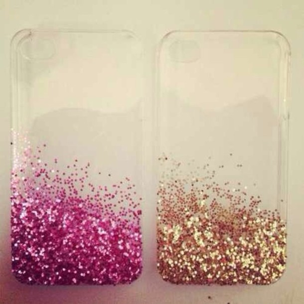 Iphone 5s Gold Glitter Case Case Iphone 5 Case Glitter