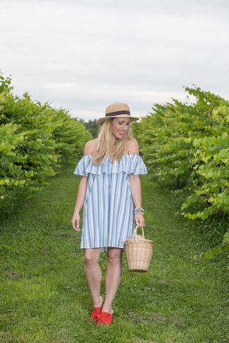 pearls&twirl blogger dress shoes hat bag jewels