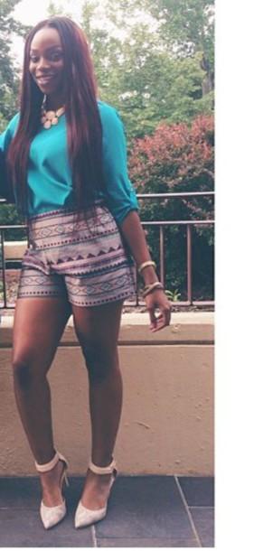 shorts aztec short multicolor