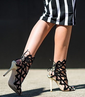 shoes lace up open toes heels