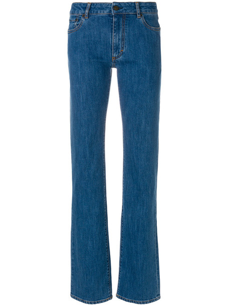 PORTS jeans women spandex cotton blue 24