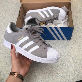 shoes grey adidas shoes adidas superstars adidas white