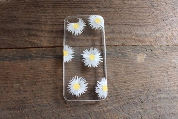 flowers daisy jewels phone cover phone cases grunge soft grunge hipster iphone 4s phone case iphone cover daisy iphone case, daisy flowers, iphone case, flower iphone case bag hell phone case