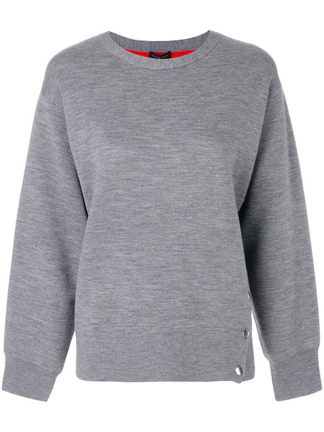 Rag & Bone sweatshirt women spandex cotton grey sweater