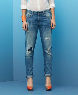 Levi's Marker Boyfriend Jeans - Blowout - Boyfriend