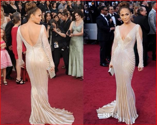 J Lo Prom Dress