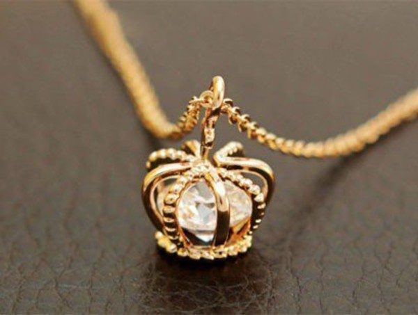 jewels crown necklace gold jewels king diamonds diamonds sumner party girly elegance or couronne perfect pretty dioamonds chain gold chain silver diamond necklace gemstone gems