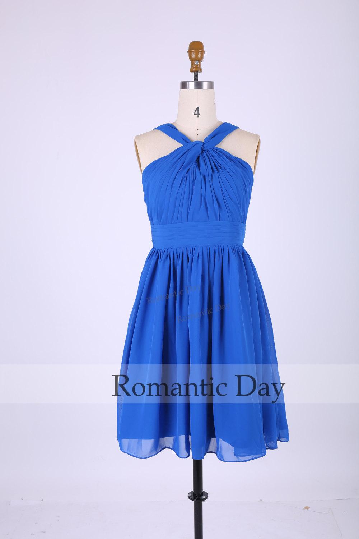 Short chiffon bridesmaid dresses/party dress/evening dress/prom dress graduation/formal dress homecoming 0315