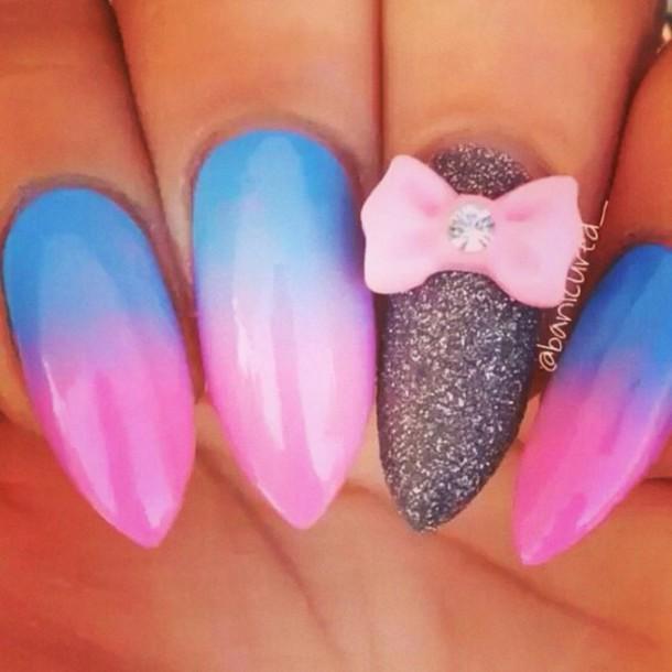 nail polish sparkle jewels