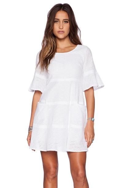 The Allflower Creative dress white