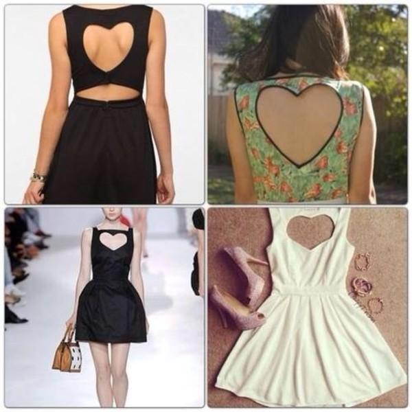 dress heart dress