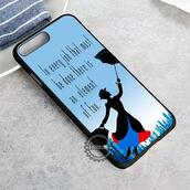 top,cartoon,disney,mary poppins,quote on it,iphone case,phone cover,iphone x case,iphone 8 case,iphone7case,iphone7,iphone 6 case,iphone6,iphone 5 case,iphone 4 case,iphone4case