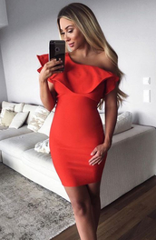 dress,dream it wear it,red,red dress,one shoulder,one shoulder dress,ruffle,ruffle dres,ruffle dress,frill,frill dress,asymmetrical,asymmetrical dress,bodycon dress,summer dress,summer outfits,spring dress,spring outfits,fall dress,fall outfits,classy dress,elegant dress,cute dress,engagement party dress,prom,prom dress,short prom dress,red prom dress,formal,formal dress,formal event outfit,romantic dress,bodycon evening dress,cheap party dresses,deep v neck sexy party dress,sexy lingerie,gold sexy dresses,long sexy party dresses,bachelorette party outfits,sexytop sexy outfit,white cocktail dressesf,girly dres,date date outfit,sweet 16 birthday dress,plus clubwear,sexy bodycon club dress,short homecoming dress,wedding clothes accessories,wedding guest,romantic dres,swimsuit bikini summer holidays,holiday season,christmas dresses