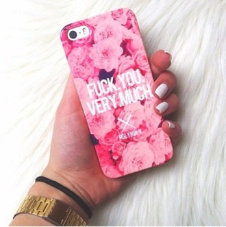 pink floral flowers phone case iphone case cover cases roses