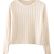 ROMWE | Midriff Apricot Jumper, The Latest Street Fashion