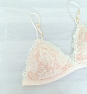 underwear,yokoyaki,bralette,lace bra,white lingerie,lingerie,summer,bikini,love,gift ideas,etsy,lace bralette,pink,nude,lace white lingerie,floral,bikini top,lookbook,so intimates,luxury,honeymoon fashion,valentines day gift idea,sorry not so sorry,etsyfreeforme,etsylingerie