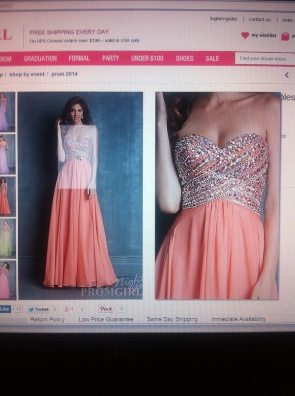 dress dress prom girl long strapless
