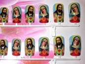 nails,jesus,virgin mary,jewels