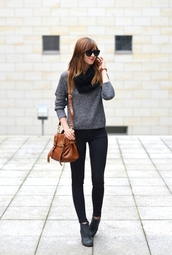 vogue haus,blogger,jeans,scarf,jewels,sunglasses,sweater,shoes