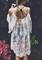 Gypsy boho lace dress