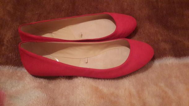 shoes rouge bershka