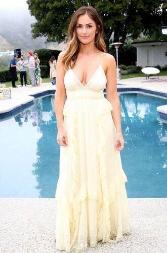 dress maxi dress minka kelly plunge dress maxi instagram