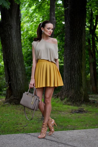 my silk fairytale skirt shoes bag blouse