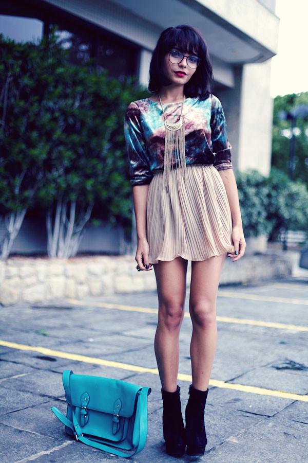 instinto de vestir skirt shirt jewels shoes bag