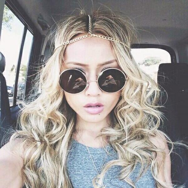 sunglasses hair accessory