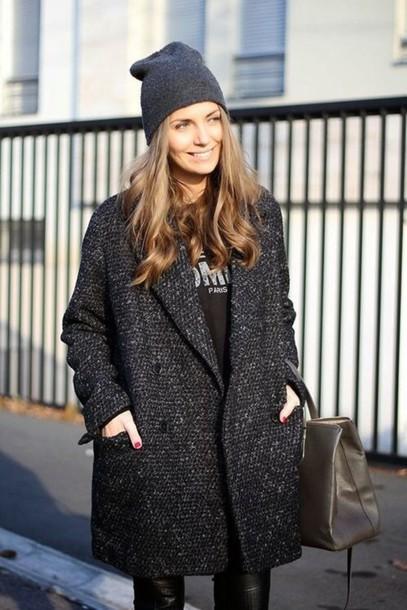 coat streetwear style oversized