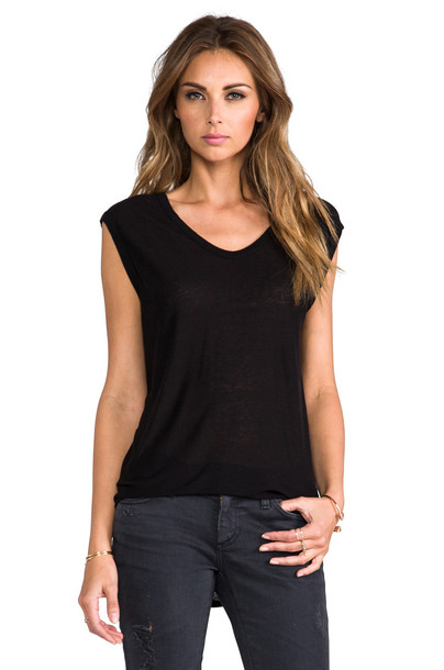 muscle tee classic black