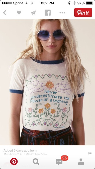 white baseball tee knitwear stiches t-shirt shirt blouse cute quote on it feminist vintage valentines day galentines day