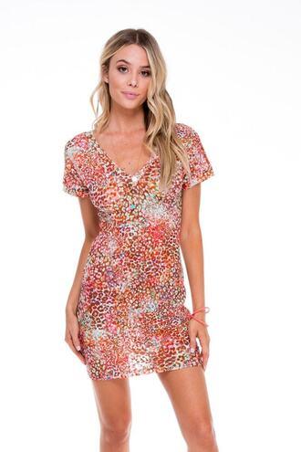 dress cover up luli fama print bikiniluxe