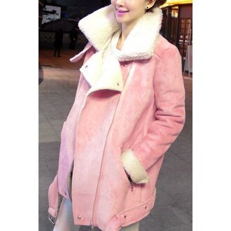 coat rose wholesale girly pink winter outfits winter coat vintage pretty