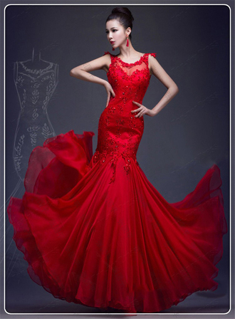 dress red prom dresses red prom dress with beading mermaid prom dresses mermaid prom dress