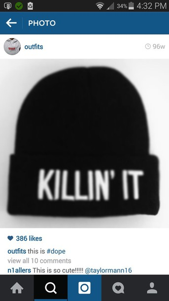 hat graphic beanies swag hats cool grunge
