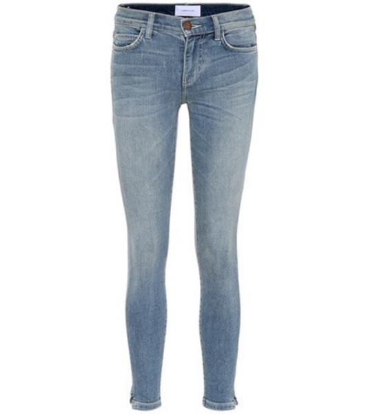 Current/Elliott The Stiletto skinny jeans in blue