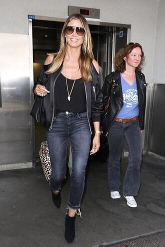 jacket jeans heidi klum