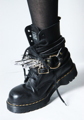 boots,DrMartens,quartz,black,punk,shoes,edgy,hot,rock,jewels,goth,grunge,leather,black shoes