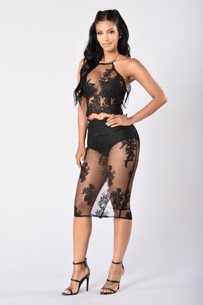 Baby S Breath Set Black Fashion Nova