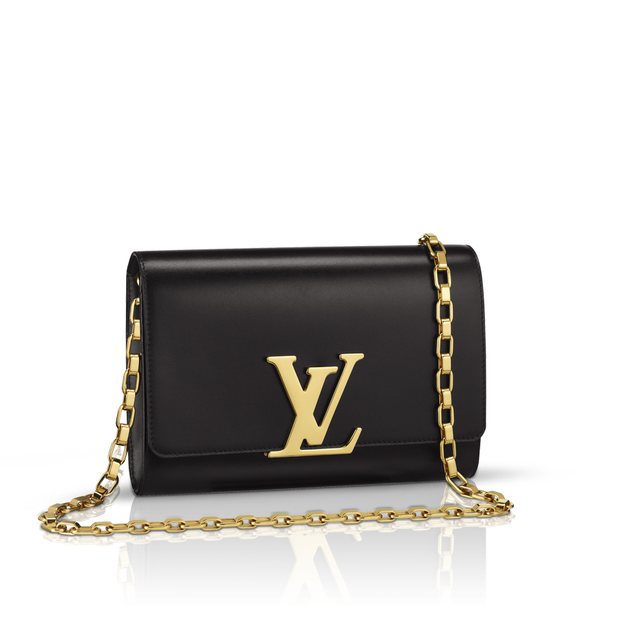 Louis vuitton  chain louise (lg) autres cuirs handbags