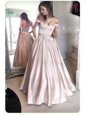 dress,pink grad dress